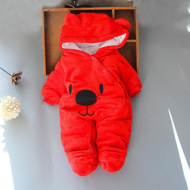 HTB1n3zXpNuTBuNkHFNRq6A9qpXaq Baby clothing Boy girls Clothes Cotton Newborn toddler rompers cute Infant new born winter clothing