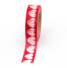 Washi Tape Heart Scrapbooking Tools Masking Tape DIY Cute Kawaii Heart Star Washi Tape