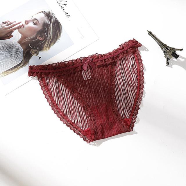 Women's Sheer Style Bikini Panties