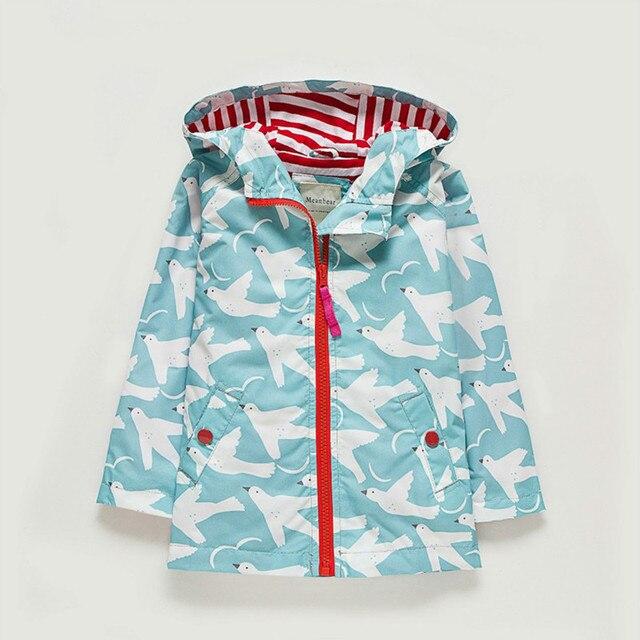Reino Unido original meanbear niños chaqueta Niñas colorido Niñas ...