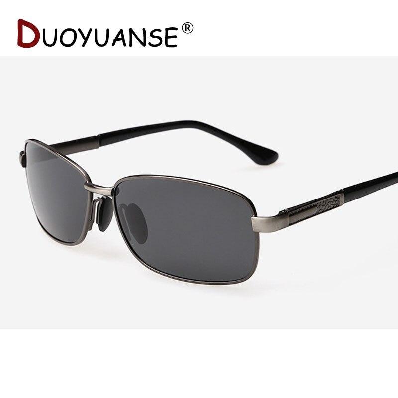 4204a67a4 DUOYUANSE الرجال الاستقطاب النظارات الشمسية نظارات للقيادة عالية الجودة  النهائي واضح من نظارات شمسية A207