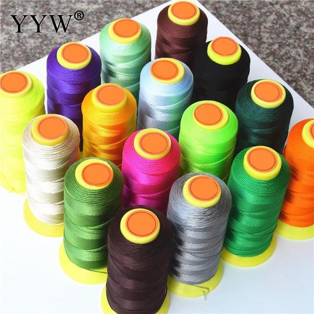 0.2mm 0.4mm 0.6mm 0.8mm 1mm Polyamide cordon fil à coudre cordon pour corde soie perles chaîne Nylon cordon Costume bijoux à bricoler soi-même fabrication