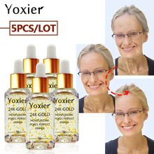 Yoxier 24k Gold Moisturizing Pores Perfect Serum Face Care Anti-Aging Oil-contro
