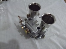 AAA-Quality WEBER 45 DCOE Carburetor with Chrome air horns