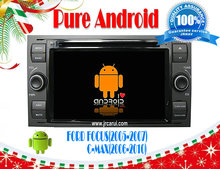 Pure Android 4.4 car audio dvd gps system with Capacitive touch screen for  FOCUS/MAX/ FIESTA/FUSION,3G ,WIFI ,support OBD
