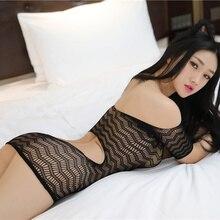 Sexy Babydoll Lingerie Woman Half Sleeve Tube Top Busty Butt Black Porn Women