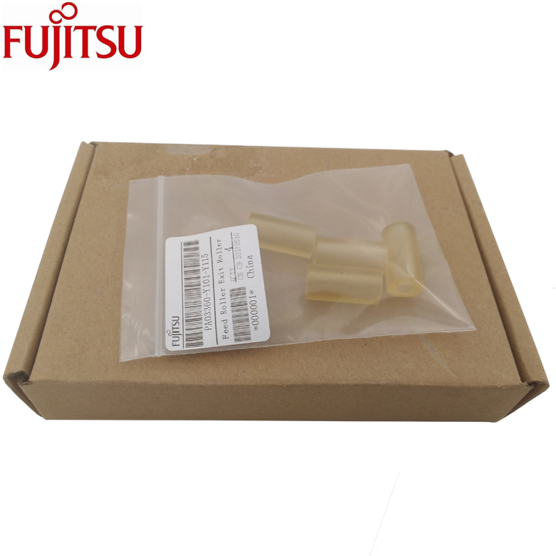 ORIGINAL Feed Exit Roller for Fujitsu fi-6110 S1500M S1500 S510M S510 S500M S500