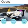 Overe 1 комплект автомобильная парковочная карта подставка для телефона авто нескользящий коврик для BMW E60 E36 E46 E90 E39 E30 F30 F10 F20 X5 E53 E70 E87 E34 E92 M