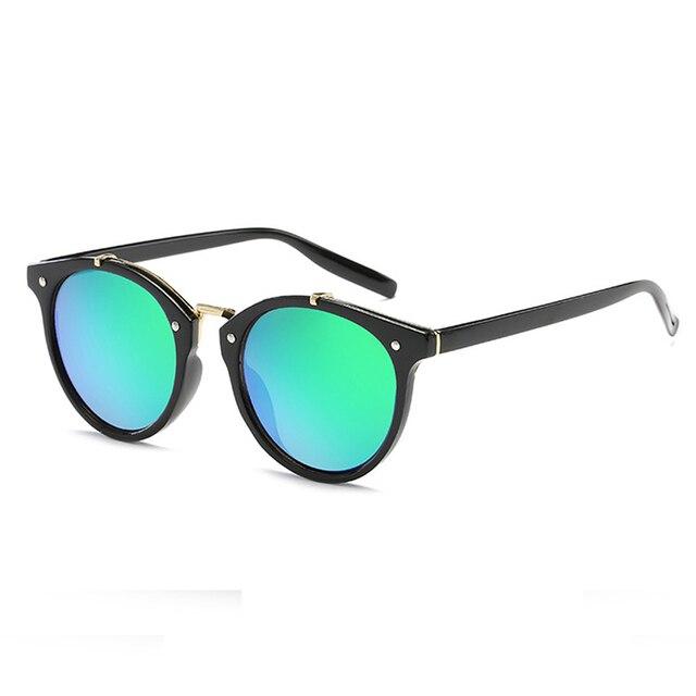 a124df717c 2017 Nueva Tendencia Diseñador de la Marca de Lujo Retro gafas de Sol de  Moda Para Hombres de Las Mujeres ...