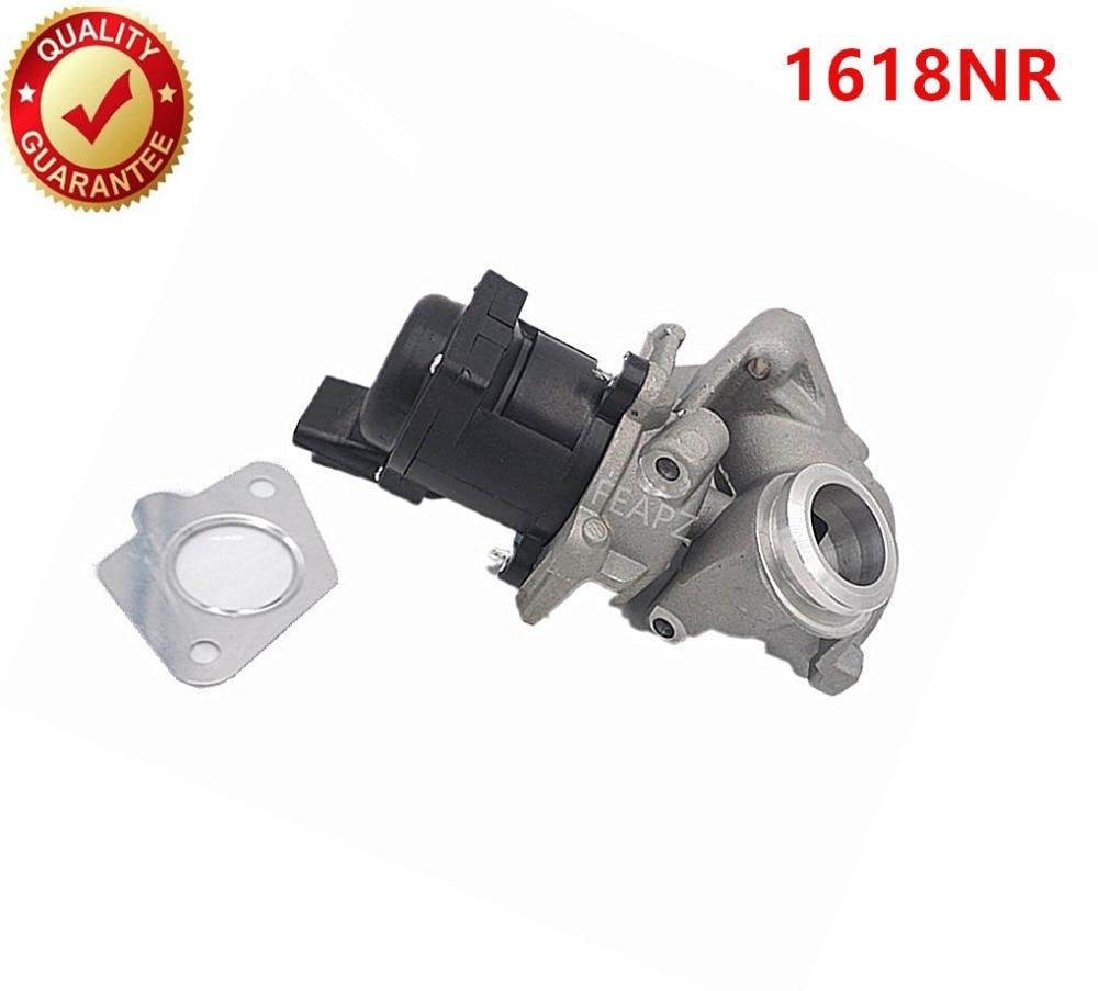 9685640480 1618NR 1338675 EGR Valve FIT for Peugeot 1007 206 207 307 1 6 Hdi Diesel