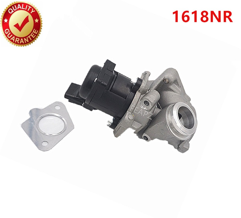 9685640480 1618NR 1338675 EGR Valve FIT for <font><b>Peugeot</b></font> 1007 <font><b>206</b></font> 207 307 1.6 Hdi <font><b>Diesel</b></font> for 1618.NR 161859 6NU010171-1011 image