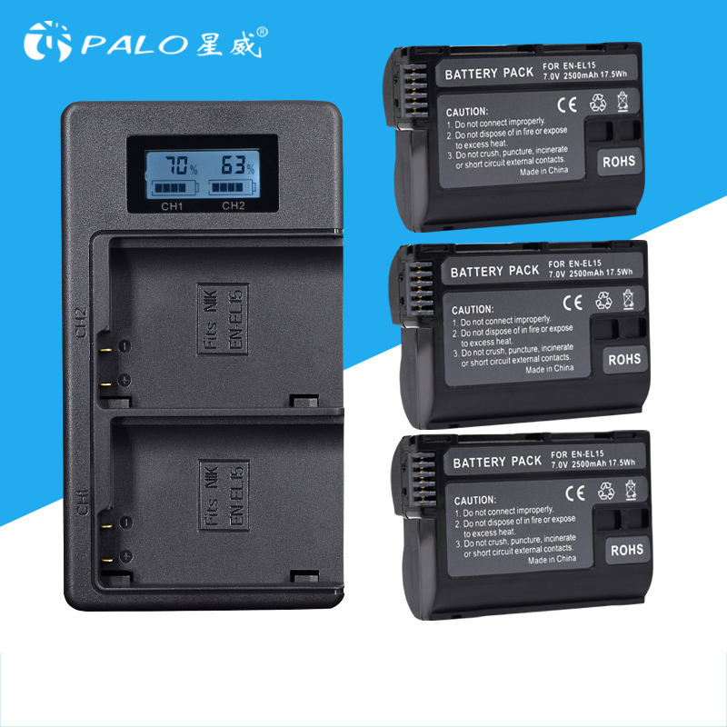 3 pcs 2000 mah NP-FW50 NP FW50 NPFW50 Batterie Akku + LCD Double Chargeur pour Sony Alpha a6500 a6300 a7 7R a7R a7R II a7II NEX-3 NEX-5