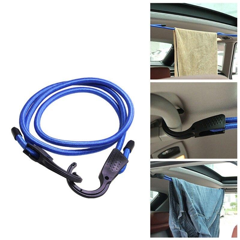 1.5 M Regolabile Corda Bagagli Auto Clothesline Coperta Auto Elastico Attrezzature Bungee Fili Dd Lacci Cinghie Bagagli Corde Cinture 9449 Originale Al 100%