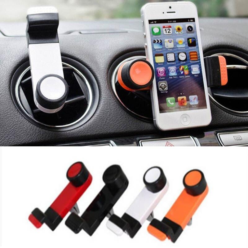 2017 Universal Car Phone Holder Stand 360 Degree Adjustable Air Vent Mobile Phone Mount GPS Holder Bracket