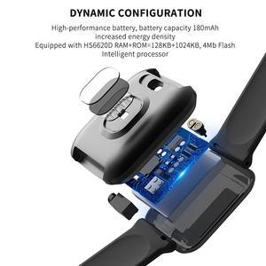 Image 5 - NAIKU CY05 Smart Watch Bracelet Ports Waterproof Fitness Heart Rate Blood Health Monitoring Pressure Health Step Remote Watch