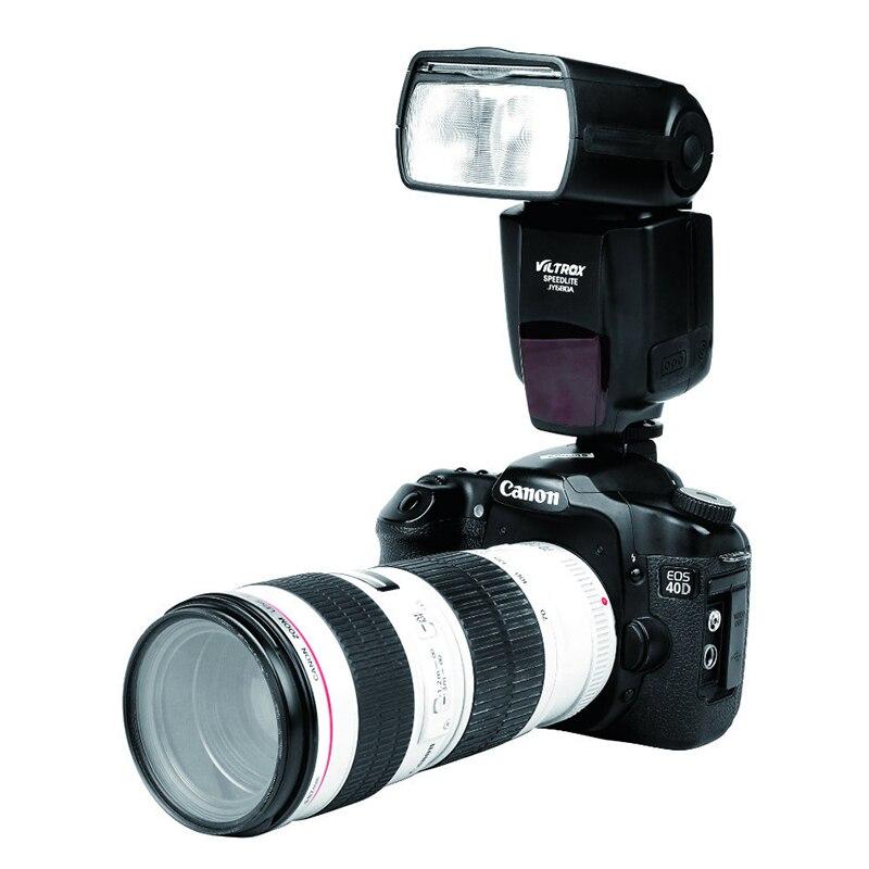 VILTROX JY-680A JY680A Universel Caméra LCD Flash Speedlight pour Canon 1300D 1200D 760D 750D 700D 600D 70D 60D 80D 5D II 7D
