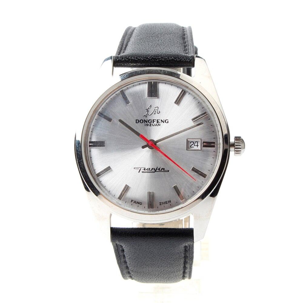 """Klasse Uhr """"Dongfeng"""" Re edition Seagull Automatische Mechanische herren Uhr FKDF-in Mechanische Uhren aus Uhren bei  Gruppe 1"""