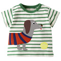Free shipping 2016 European style summer cotton short-sleeved T-shirt boys