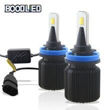 H7 LED Headlight H4 H8 H9 H11 H1 H3 LED H27 880 881 HB3 9005 HB4 9006 9012 Dual Color LED Bulbs 12V-24V Car Headlights Fog Lamp nao h7 led h4 led bulb car light headlight bulbs 12v h11 h1 h3 h8 h9 hb3 9005 hb4 9006 h27 880 881 h13 automobiles lamp light f2