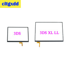 cltgxdd Touch screen panel display digitizer glass for Nintendo 3DS  XL LL console game replacement стоимость
