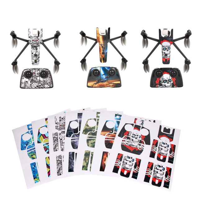 US $10 99  Waterproof UV Resistant DIY PVC Stickers Decal Skin Cover  Sticker for Parrot Anafi Drone Body Battery Wrap Guard Protective Kits-in  Drone