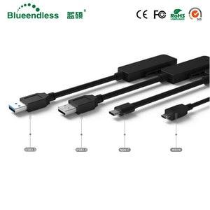 """Image 2 - Nieuwe Type C naar SATA Serial Adapter Kabels Computer Connector Kabels Voor 2.5 """"Sata HDD Laptop Harde Schijf"""