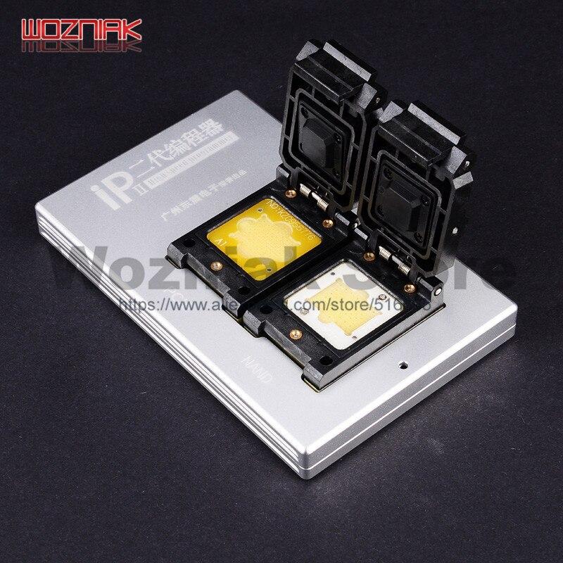 Wozniak Più Nuovo Box IP 2018 NAND Programmatore BOX IP V2 HDD NAND SN Strumento di Riparazione per il iphone 4 s 5 5C 5 s 6 6 p 6 s 6SP 7 7 p Tutti I iPad