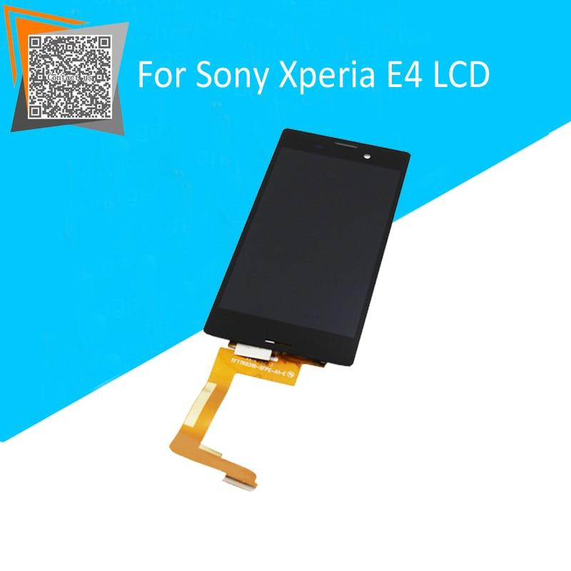 NEW Original 5 for Sony Xperia M4 Aqua E2303 E2333 E2353 LCD Display with Touch Screen Full Assembly TFT7K0310-SFPC-A1-E