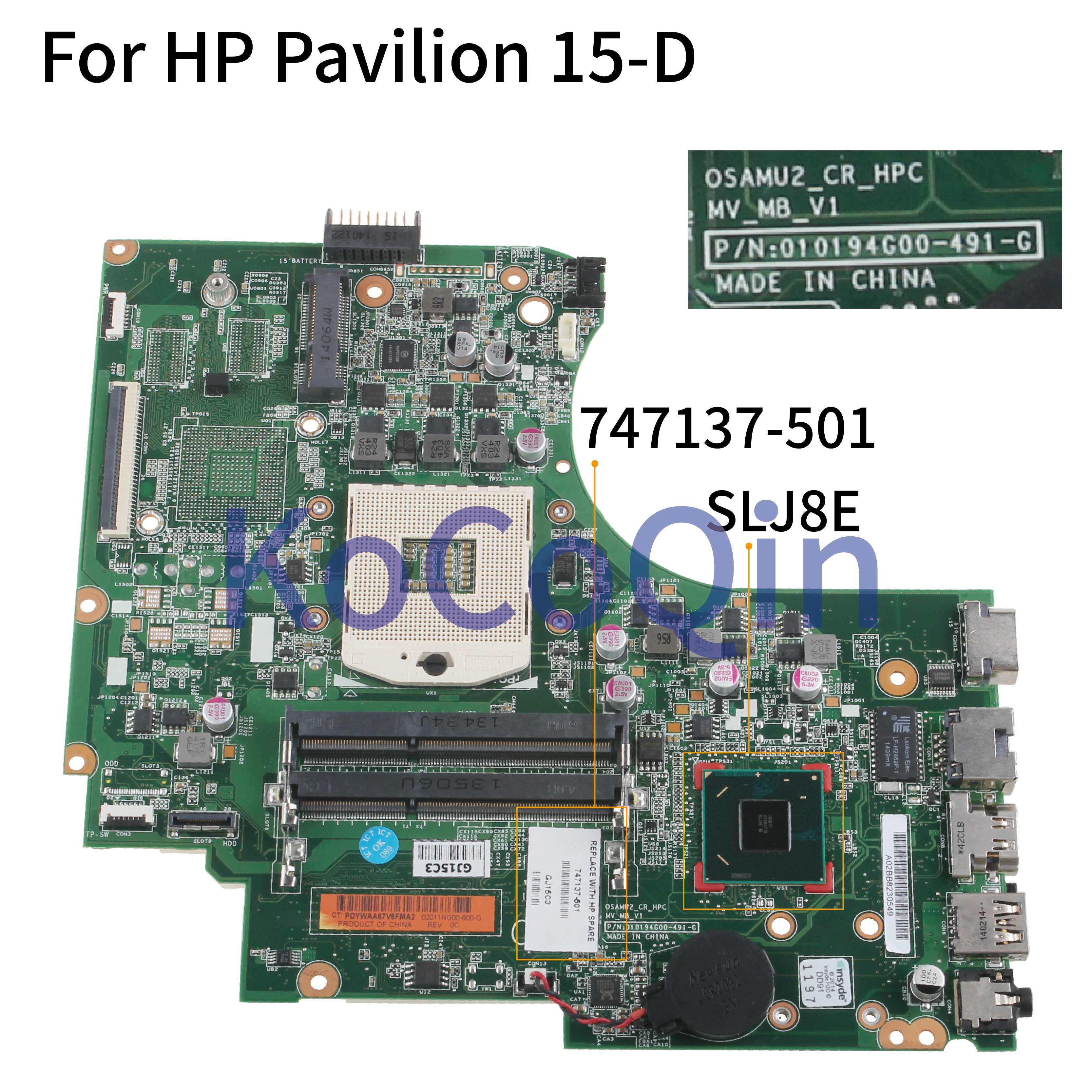 For HP 6530B 6730B INTEL GM45 GE45 Motherboard 486248-001 100/% Tested OK