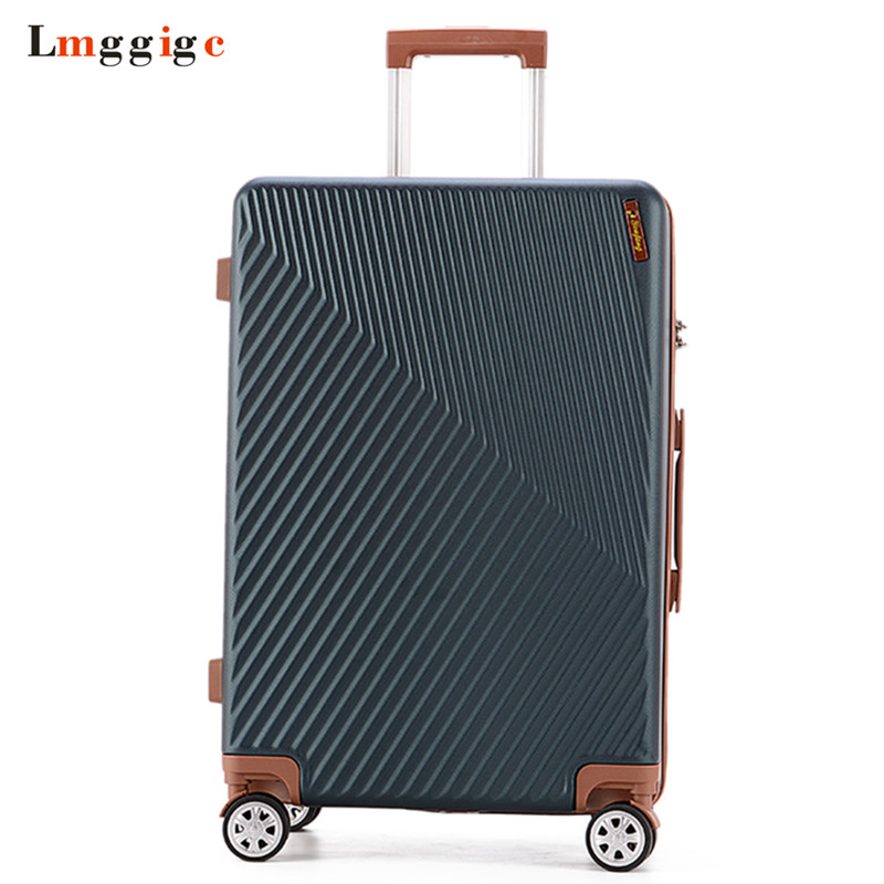 New Rolling Luggage bag,Fashion Travel Suitcase,ABS Trunk with Wheel,Vintage Trolley Case,Women Box,Men Carry-On,Classic Valise