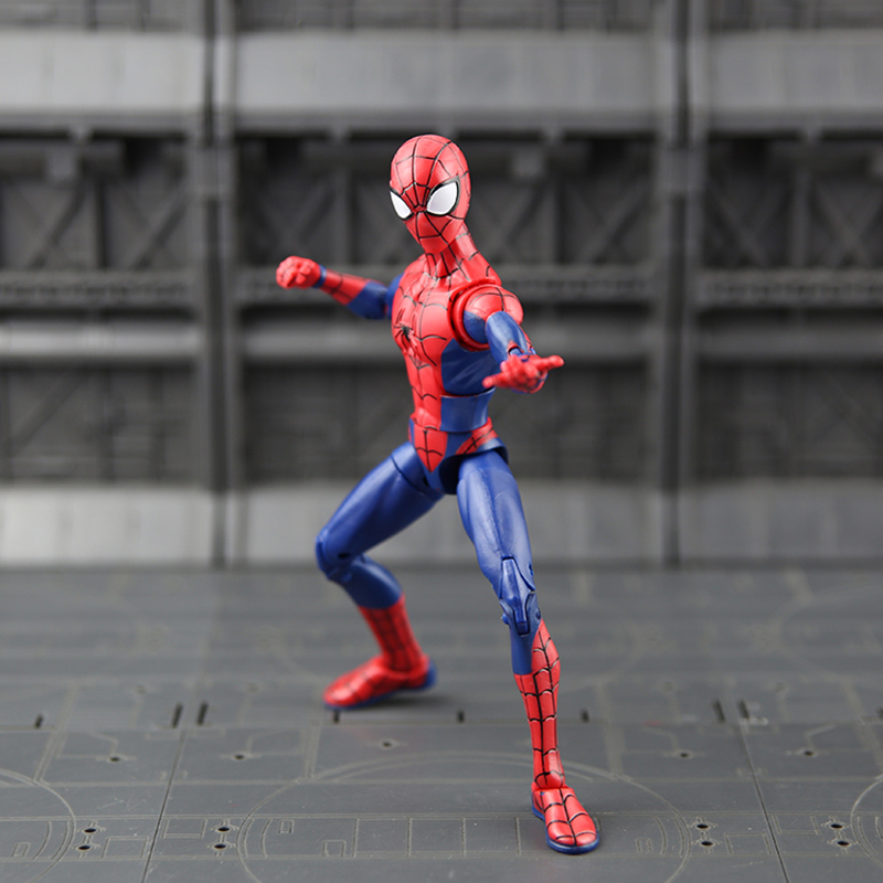 Action & Toy Figures Spider-man Variant Action Figure 1/8 Scale Painted Figure Spider-man Homecoming Pvc Figure Toy Brinquedos Anime