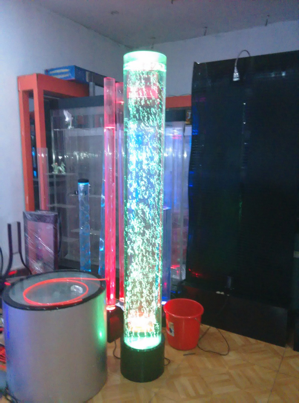 Crystal Column Bubble Column Water Column Lamp Light