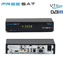 Promotion Freesat V7 Max DVB-S2 Satellite TV Receiver with PowerVu Biss Key Cccam
