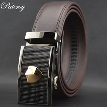 New Men's Genuine Leather Black / Brown Belt
