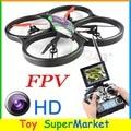 V666 de WLtoys RC Quadcopter Drone con Cámara 2.0 M FPV 5.8 GHz Modo de Transmisión En Tiempo Real de CF Helicóptero de Control Remoto COMO H9D V262