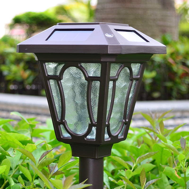 Outdoor LED Solar Pin Lawn Lights Aluminum Alloy Waterproof Lamps For Garden Cottage Cou ...