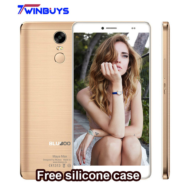 Original Bluboo Maya Max Smartphone 6.0 Pouce Android 6.0 MT6750 Octa Core Mobile Téléphone 3 GB RAM 32 GB ROM 4200 mAH 4G Téléphone portable