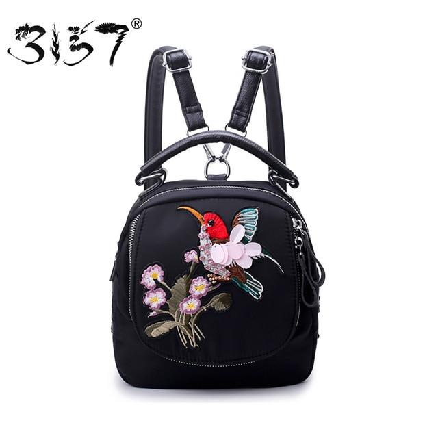 096ed5f17f7 3157-Mode-Femmes -Mini-Sac-Dos-Fleurs-et-Oiseaux-Perles-Broderie-Cartable-pour-Adolescent-filles-Nylon.jpg 640x640.jpg