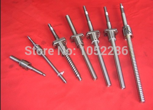 3pcs ball screw RM1610 L400mm with 3pcs SFU1610 single ball nut for cnc router screw guide 1pcs ball screw rm1610 l450mm with 1pcs sfu1610 single ball nut for cnc router screw shaft