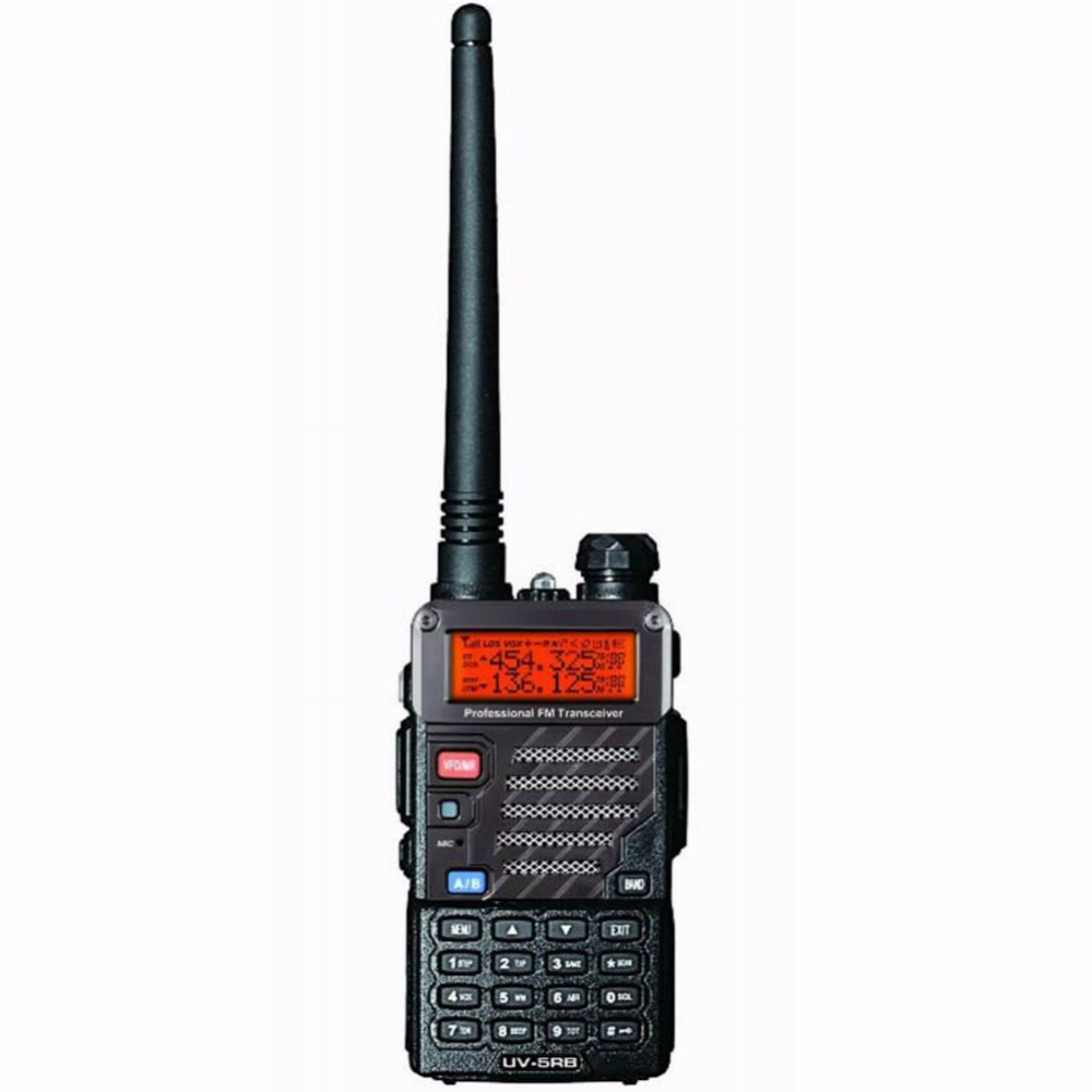 New Baofeng UV-5RB Für Polizei Walkie Talkies Scanner Radio Dual Band Cb Ham Radio Uhf 400-470 MHz & VHF 136-174 MHz