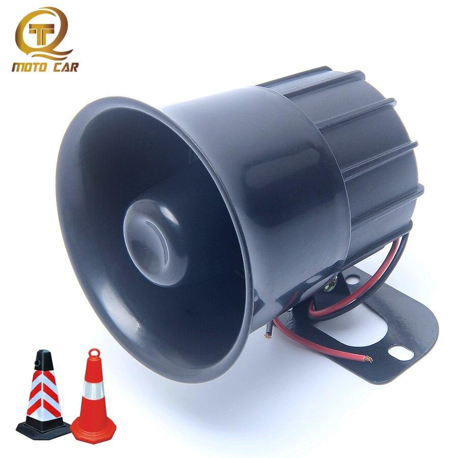 Universal Super Loud Sound 12V 30W Reversing Horn Car Moto Truck Notice Alarm Loudspeaker Electric Reverse Alarm Backup Horn