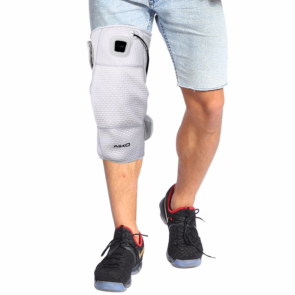 Heated Knee Wrap Brace Graphene Electric Heating Knee Support Pad Arthritis Pain Relief Warm Therapy Knee Wrap Support Kneepad health product knee pain relief rheumatoid arthritis treatment device with 4 function home care