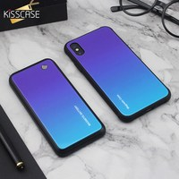 KISSCASE Tempered Glass PowerBank Case For Samsung Galaxy S10 S9 S8 Plus Note 8 9 S10E Wireless Magnetic Battery Charger Case