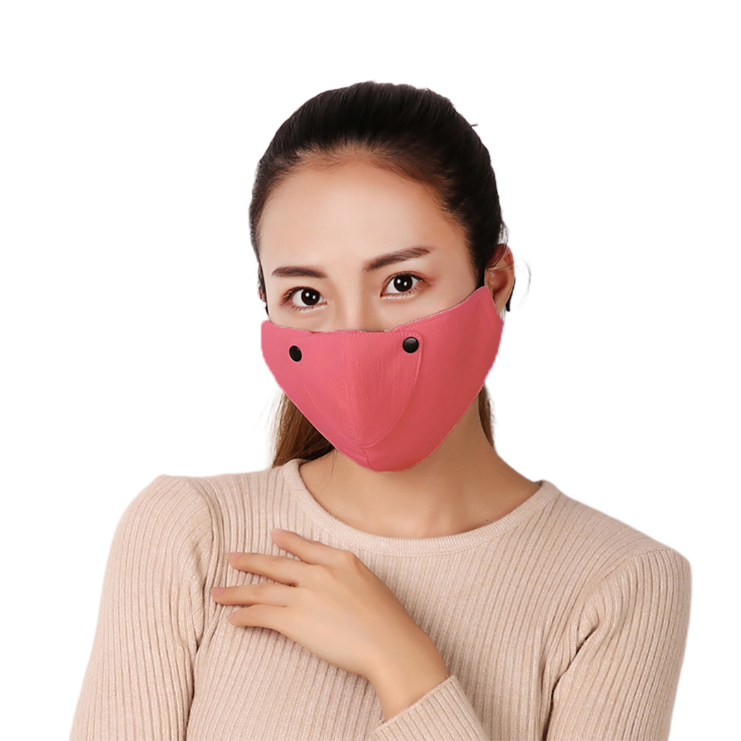 Unisex Mouth Mask Washable Cotton Anti Dust Protective Reusable Breathable Warm Cycling Masks Face Mouth Mask For Women