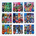 2014 New Summer baby cartoon ben 10 socks kids cotton snow white sock Children's socks lovely boys girls 4 designs 12pair/lot