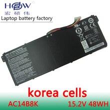 цена New Genuine Original AC14B8K Battery 11.1V 36WH FOR Acer TravelMate B115-M B115-MP Chromebook 13 CB5-311 AC14B18J free ship