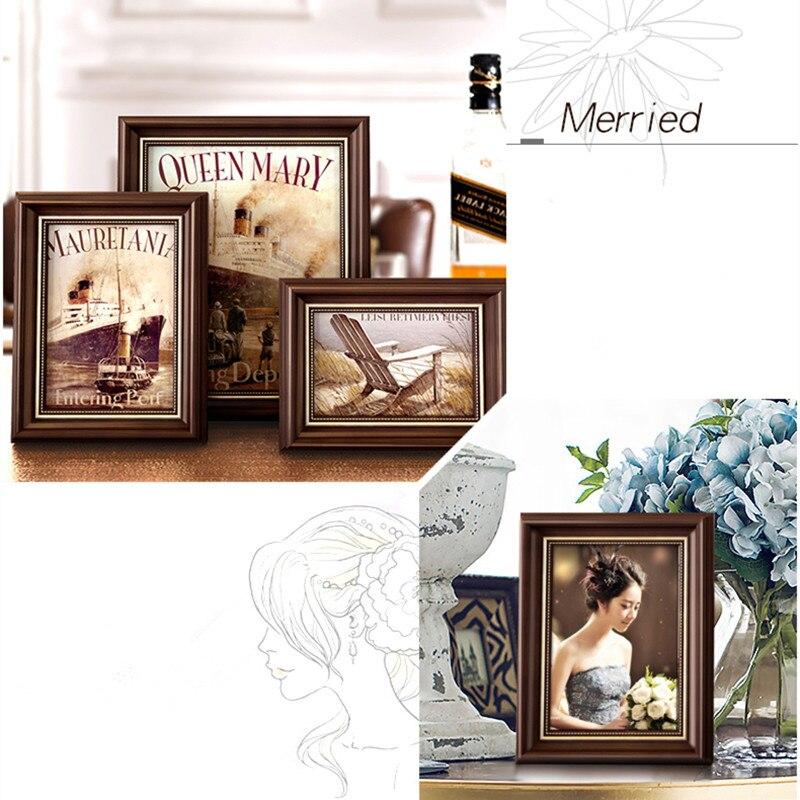 1 Unid/set Collage Marcos Para La Familia de Alta Calidad Tallado ...