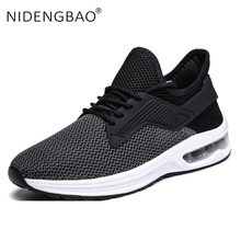 Men Running Shoes Hot Sale Air Cushion male Sneakers Breathable Outdoor Sport Shoes Light Athletic Footwear Zapatos De Hombre
