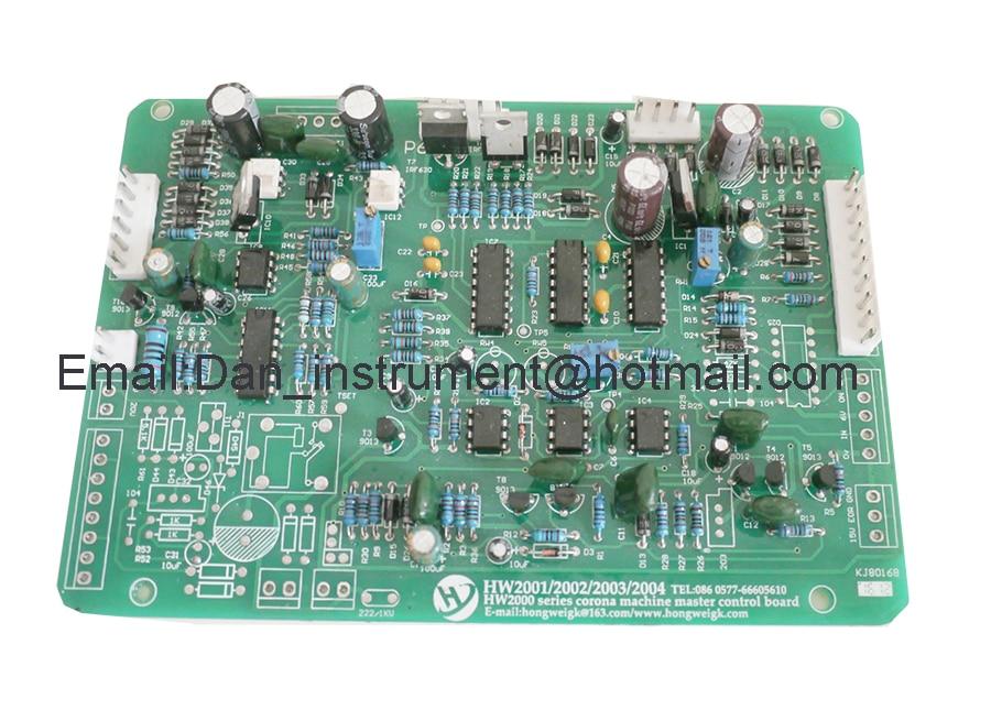 HW2001 2002 2003 2004 corona treater machine master control board