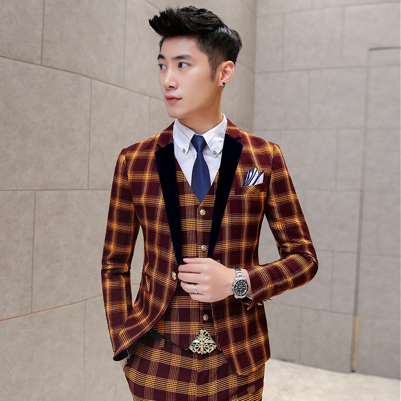 Online Buy Wholesale check blazers for men from China check ...